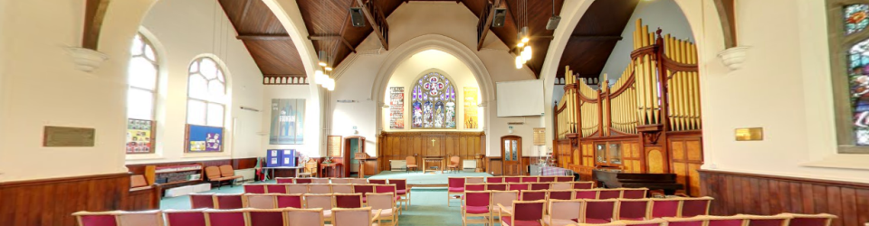 Inside St Luke's Methodist Church Hoylake