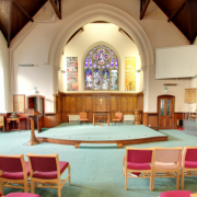 Inside St Luke's Church Hoylake