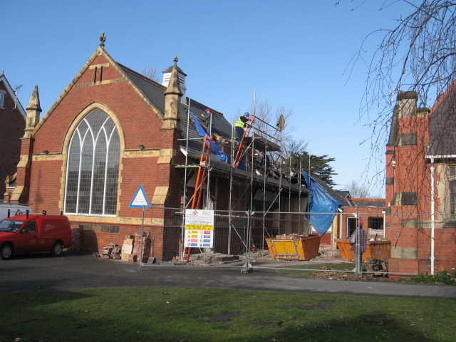 Construction at St. Luke's 2006