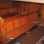 St Luke's Methodist Church Hoylake pews