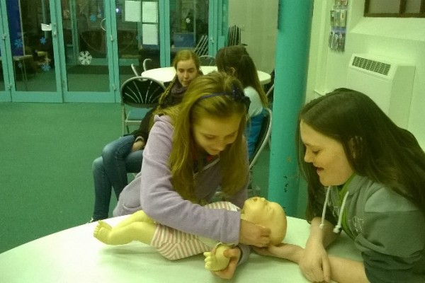 Girl Guide First Aid Day 1