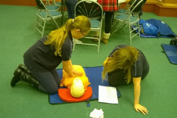 Girl Guide First Aid Day 3