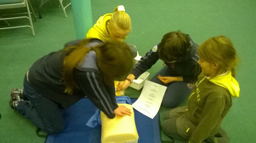 Girl Guide First Aid Day 4
