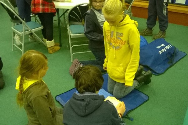 Girl Guide First Aid Day 5