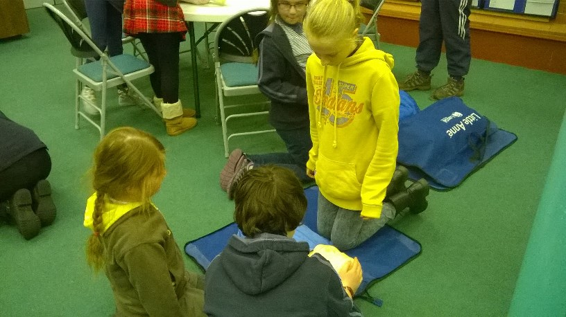 Girl Guides First Aid Day 5