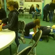 Girl Guide First Aid Day 6
