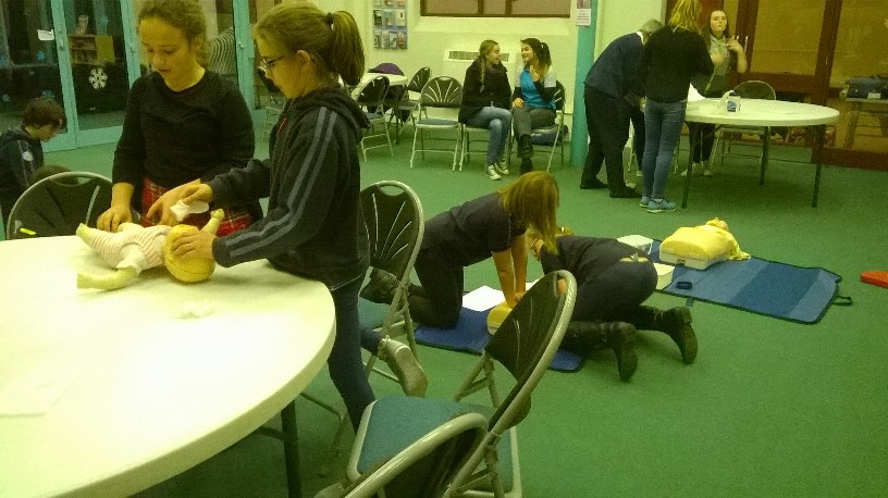Girl Guides First Aid Day 6