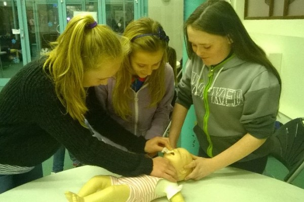 Girl Guide First Aid Day 7