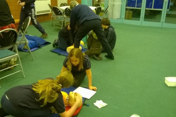 Girl Guide First Aid Day 8