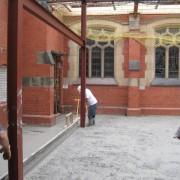St Luke's Building Work 2006 Community Room start