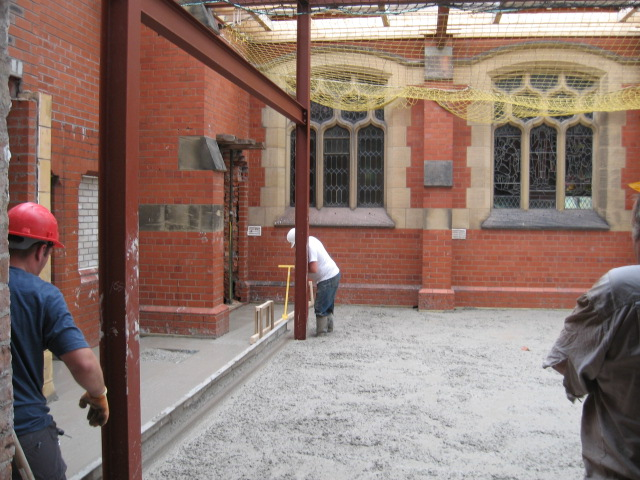 St. Luke's Community Room Work 2006