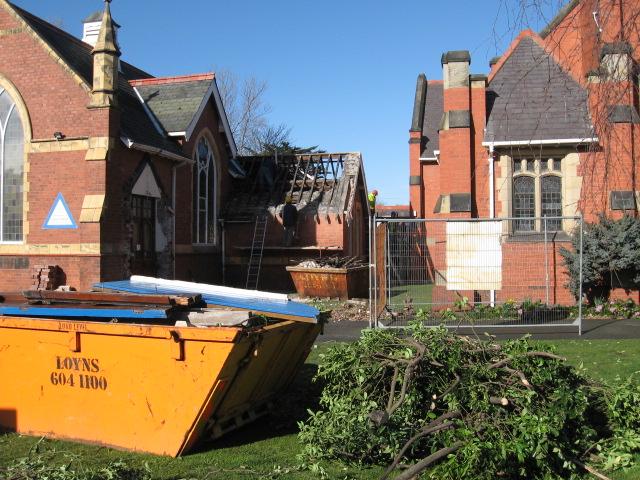 External work at St. Luke's 2006