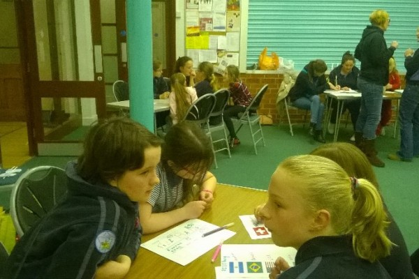 St Lukes Girl Guides Thinking Day 5