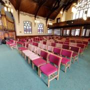 Inside St Lukes Church, Hoylake