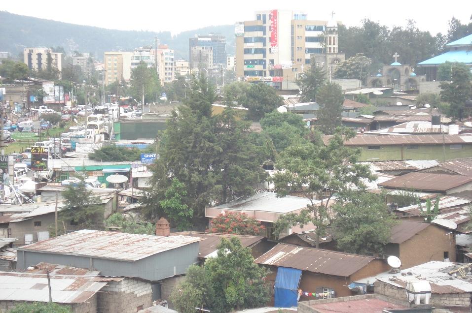 Ethiopia – the local area